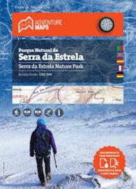Wandelkaart Serra da Estrela Naturpark - Macico Central e Valé Glaciar do Zêzere | Adventure Maps Portugal | 1:25.000 | ISBN 9789895405206