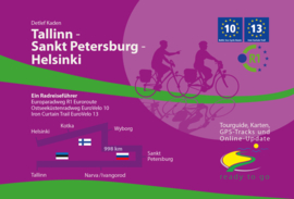 Fietsgids Talinn - St. Petersburg - Helsinki | IS.Radweg | ISBN 9783981718669