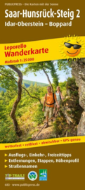 Wandelkaart Saar-Hunsrück Steig 2 : Idar-Oberstein - Boppard | Public Press | ISBN 9783899206838