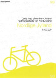 Fietskaart Noord Jutland | Scanmaps nr. 5 | 1:100.000 | ISBN 9788779671096