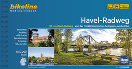 Fietsgids Havel Radweg - 380 km | Bikeline | ISBN 9783850009393