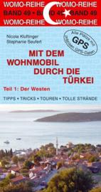Campergids -Camperplaatsen Mit dem Wohnmobil in die Türkei West | WOMO 49 | ISBN 9783869034935