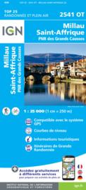 Wandelkaart Millau, St-Affrique - PNR Grands Causses | IGN 2541OT - IGN 2541 OT | ISBN 9782758539599
