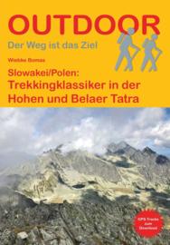 Wandelgids Slowakei Polen: Trekkingklassiker in der Hohen und Belaer Tatra | Conrad Stein Verlag | ISBN 9783866866461