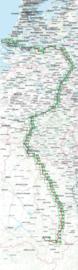 Fietsgids Maas Radweg | Bikeline | 1070 km. | ISBN 9783850008143