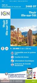Wandelkaart Thuir, Ille-sur-Tet, Latour-de-France, Estagel, Millas | Pyreneeën | IGN 2448OT - IGN 2448 OT | ISBN 9782758542797