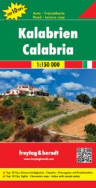 Wegenkaart - Fietskaart Calabrië   Freytag & Berndt   ISBN 9783707914931