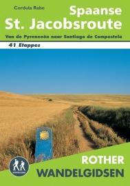 Wandelgids-Trekkinggids Spaanse St. Jacobs route | Elmar - Rother | Nederlandstalig | ISBN 9789038925516