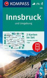 Wandelkaart Innsbruck - Brenner | Kompass 36 | 1:50.000 | ISBN 9783990444726