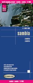 Wegenkaart Zambia | Reise Know How | 1:1 miljoen | ISBN 9783831771950
