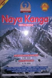 Wandelkaart / Klimkaart Naya Kanga - Ganja La 5844 meter | Nepa Maps | 1:50.000 - 1:75.000 | 9799993323029