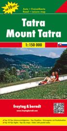 Wegenkaart Hohe Tatra | Freytag & Berndt | 1:150.000 | ISBN 9783707907674