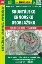Wandelkaart Tsjechië - Bruntálsko, Krnovsko, Osoblažsko | Shocart  459 | ISBN 9788072247370