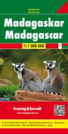 Wegenkaart - landkaart Madagascar - Madagaskar | Freytag & Berndt | 1:1 miljoen| ISBN 9783707914139