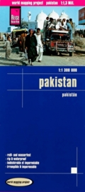 Wegenkaart Pakistan | Reise Know How | 1:1,5 miljoen | ISBN 9783831774241