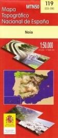 Wandelkaart - Topografische kaart Noia  | 1:50.000 | CNIG 119 | ISBN 8423434011909