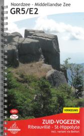 Wandelgids GR5 : Elzas - van Ribeauvillé naar St. Hippolyte   De Wandelende Cartograaf   ISBN 9789083086941