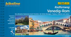 Fietsgids Venetië - Rome | Bikeline Venedig - Rom | ISBN 9783850007764