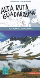 Wandelkaart Alta Ruta Guadarrama | Editorial Alpina | 1:25.000 | ISBN 9788480905510
