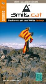 Wandelkaart / wandelgids 3000ers in de Catalaanse Pyreneeën | Editorial Alpina | 1:40.000 | ISBN 9788480906050