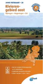 Fietskaart Rivierengebied Oost | ANWB 28 | 1:66.666 | ISBN 9789018047290