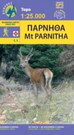 Wandelkaart Parnitha | Anavasi 1.1 | 1:25.000 | ISBN 9789608195554