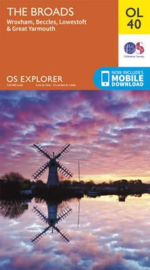 Wandelkaart The Broads | Ordnance Survey OLM 40 | ISBN 9780319242797