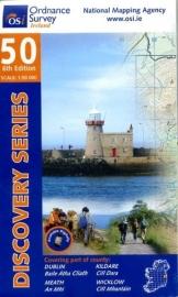 Wandelkaart Ordnance Survey / Discovery series | Dublin / Kildare 50 | ISBN 9781907122170