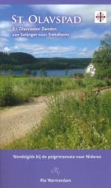 Wandelgids Het Olavspad: Van Selanger naar Trondheim | Ria Warmerdam | ISBN 9789082251029