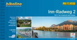 Fietsgids Inn Radweg 2 - 320 km | Bikeline | Fietsgids Tirol: van Innsbruck naar Passau | ISBN 9783850008013
