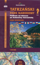 Wandelkaart Tatra National Park | CartoMedia | 1:25.000 | ISBN 9788374990073
