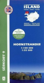 Wandelkaart  Hornstrandir nr. 09 | Mal og Menning | ISBN 9789979330400