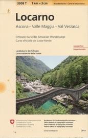 Wandelkaart  Locarno | Bundesamt 3308T |  ISBN 9783302333083
