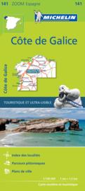 Wegenkaart - Fietskaart  Galicië | Michelin 141 | ISBN 9782067217997