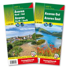 Wandelkaart Azoren   Freytag & Berndt   1:50.000   ISBN 9783707917949