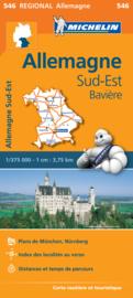 Wegenkaart Duitsland  Bayern - Beieren | 546 Michelin | 1:375.000 | ISBN 9782067183674