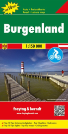 Freytag & Berndt Burgenland | Wegenkaart nr. 3 | 1:200.000 | ISBN 9783707915235