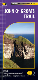 Wandelkaart John O'Groats trail | Harvey Maps | 1:40.000 | ISBN 9781851376049