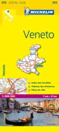 Wegenkaart - Fietskaart Veneto | Michelin 355 | 1:200.000 | ISBN 9782067127173