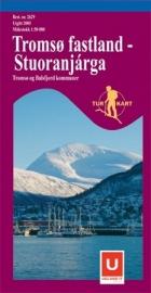 Wandelkaart  Tromso fastland / Stuoranjarga 2629 | ISBN 7046660026298