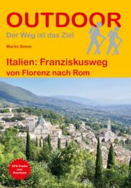 Wandelgids-Trekkinggids Franziskusweg | Conrad Stein Verlag | Toscane en Umbrië | ISBN 9783866866324
