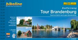 Fietsgids Tour Brandenburg - 1118 km | Bikeline | ISBN 9783850002141