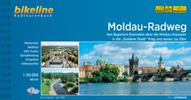 Fietsgids Moldau Radweg | Bikeline | Von Prag über Cesky Krumlov an die Donau | ISBN 9783850004596