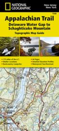Wandelkaart Appalachian Trail – Delaware Water Gap to Schaghticoke Mountain | 1:63360 | National Geographic 1508 | ISBN 9781597756457