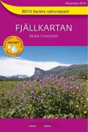 Wandelkaart Sarek Fjällkarta | Lantmateriet BD10 | ISBN 9789158895881
