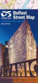 Stadskaart Belfast Street Map | Ordnance Survey | ISBN 9781905306756