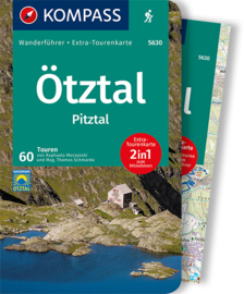 Wandelgids Ötztal und Pitztal | Kompass 5608 | ISBN 9783991210405