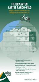 Fietskaart  Luik & Oostkantons | Alta Via 7 | 1: 75.000 | ISBN 9789082714449