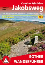 Wandelgids-Trekkinggids Camino Primitivo | Rother Verlag | Pelgrimsgids Primitivo | ISBN 9783763345328