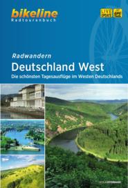 Fietsgids Duitsland West| Bikeline | ISBN 9783850006590